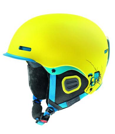 Купить Зимний Шлем UVEX HLMT 5 Pro Yellow/Blue Mat Шлемы для горных лыж/сноубордов 847667