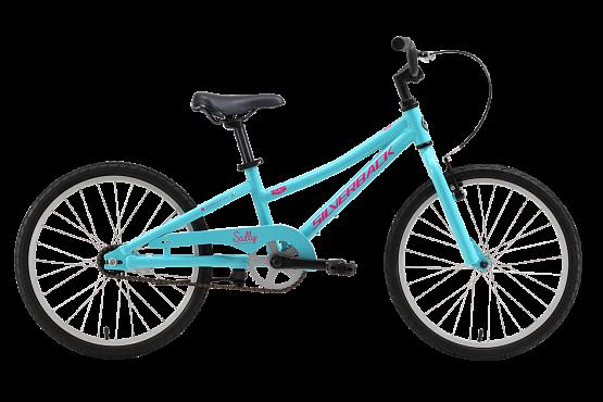 Купить Велосипед Silverback SALLY SINGLE SPEED 2016 Аквамарин/Розовый / Аквамарин/Розовый, 6-9 лет (колеса 20 ), 1250176