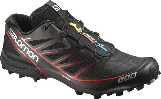 Купить Беговые кроссовки для XC SALOMON S-LAB SPEED BLACK/BLACK/RD Кроссовки бега 1247049