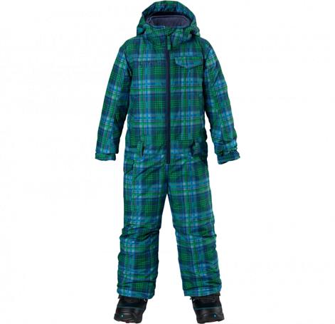 Купить Комбинезон сноубордический BURTON 2014-15 BOYS MS STRIKR O PC MASCOT MASON PLAID Детская одежда 1138315