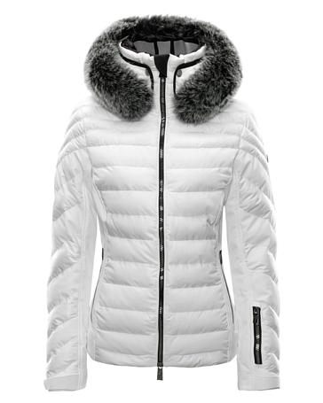 Купить Куртка горнолыжная TONI SAILER 2017-18 DIOLINE fur br/white, Одежда горнолыжная, 1364967