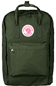 "Рюкзак FjallRaven 2020-21 Kanken Laptop 17"" Forest Green"