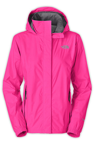 Куртка туристическая THE NORTH FACE 2014 OTW EXPL W RESOLVE JACKET AZALEA PINK розовый
