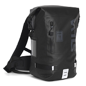 РюкзакРюкзаки туристические<br>Водонепроницаемый 18 -литровый рюкзак со сварными швами. Мешок выполнен из TPU - высокотемпературного, термопластичного полиуретана, который выдержит любые суровые условия. <br><br>Рюкзак оснащен эластичным внутренним карманом для ноутбука, карманом для документов, водоотталкивающий внешний карман и светоотражающие элементы для лучшей видимости в темное время суток.<br><br>Характеристики:<br><br>-объем 18 л<br>-водонепроницаемый<br>-сварные швы<br>-карман для ноутбука<br>-светоотражающие элементы<br>-регулируемые и вентилируемые лямки и пояс