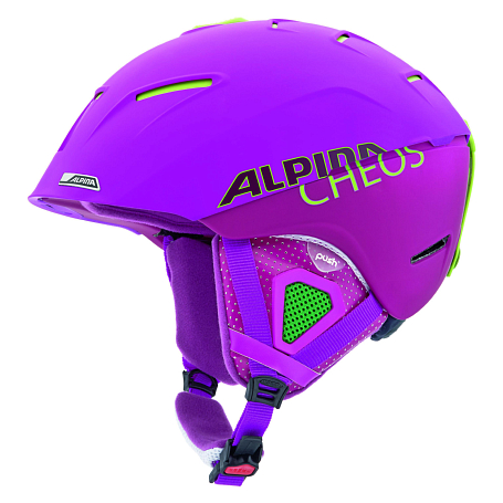 Зимний Шлем ALPINA FREERIDE CHEOS purple matt