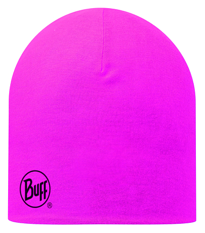 Купить Шапка BUFF MICROFIBER REVERSIBLE STATICS LIME - MAGENTA Банданы и шарфы Buff ® 1169221