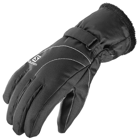 Купить Перчатки горные SALOMON 2016-17 GLOVES FORCE GTX W BLACK Перчатки, варежки 1309710