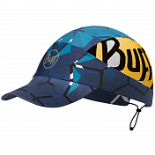 Кепка Buff Pack Run Cap Patterned Run Helix Ocean