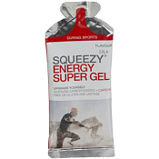 Гель SQUEEZY Energy Super Gel, с электролитами и кофеином, 33г, лимон