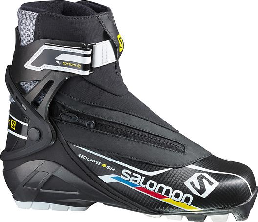 Купить Лыжные ботинки SALOMON EQUIPE 8 SKATE CF 1187539