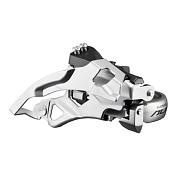 Перекл. перед.Трансмиссия<br>Shimano Alivio FD-T4000 - надежный переключатель высшего любительского уровня, подходящий для установки на различные горные велосипеды. Крепится к трубе рамы при помощи универсального хомута &amp;#40;проставки в комплекте&amp;#41;. Рамка располагается выше крепления, что обеспечивает необходимую жесткость механизма. Подвод троса - универсальный. Рассчитан на работу с трансмиссиями 3x9, подходит для систем с максимальной звездой 44-48T. <br><br>Марка: Shimano<br>Модель: Alivio FD-T4000<br>Материал: сталь/пластик<br>Особенности: 3x9 скоростей, для систем с максимальной звездой: 44-48T<br>Крепление: универсальный хомут<br>Цвета &amp;#40;выпускаемые&amp;#41;: серебристый