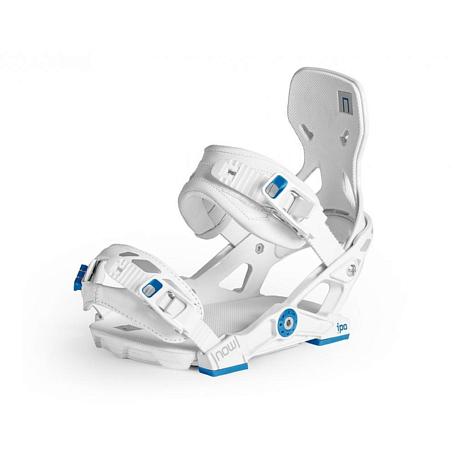 Купить Сноуборд крепления NOW 2014-15 iPO White/Blue, крепления, 1116229