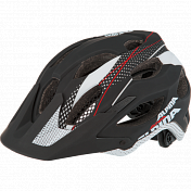 Летний Шлем Alpina Enduro Carapax Black-white-red