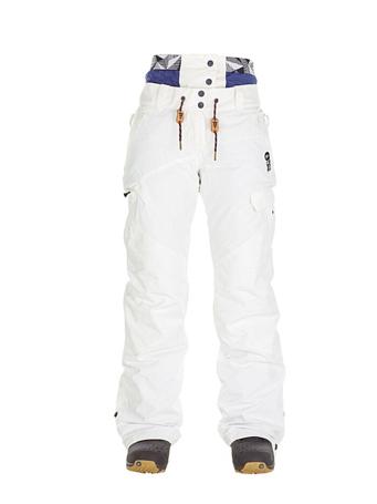 Купить Брюки сноубордические Picture Organic 2017-18 TREVA PANT G White, Одежда сноубордическая, 1354703