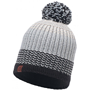 Шапка Buff KNITTED & POLAR HAT BORAE GREY