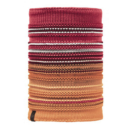 Купить Шарф BUFF KNITTED & POLAR NECKWARMER NEPER RED SAMBA, Банданы и шарфы Buff ®, 1227753