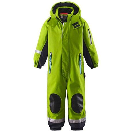 Купить Комбинезон горнолыжный Reima 2016-17 SUCCEED ЗЕЛЕНЫЙ Детская одежда 1279492