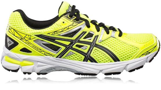 Беговые кроссовки Asics 2015 GT-1000 3 GS FLASH YELLOW/BLACK/LIGHTNING