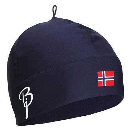 Купить Шапка Bjorn Daehlie Hat POLYKNIT Flag Navy (т.синий) Головные уборы, шарфы 859649