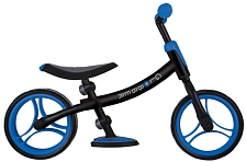 Беговел Globber Go Bike Duo 2021 черно-синий