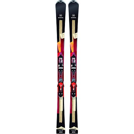 Купить Горные лыжи с креплениями ROSSIGNOL 2014-15 WOMEN UNIQUE 2 W XELIUM +XELIUM SAPHIR 110 B73 BK RED 1140040