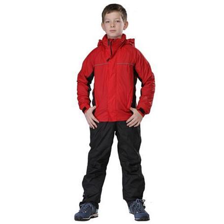Купить Ветровка для активного отдыха MAIER 2012 Kids Rain Jacket mTEX FIRE красный, Детская одежда, 787290