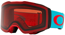 Очки горнолыжные Oakley 2018-19 Fall Line Caribbean Sea Red/Prizm Snow Rose