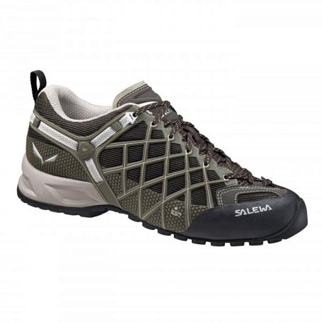 Купить Ботинки для треккинга (низкие) Salewa 2017 MS WILDFIRE VENT Black/Juta, Треккинговые кроссовки, 1157884