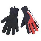 Перчатки велосипедныеПерчатки, варежки<br>Перчатки для холодных погодных условий из тонкого, но очень прочного материала.<br> Область указательного и большого пальца усилена.<br> Ветрозащитный слой Windprotect, водоотталкивающий и теплоизолирующий материал Thermoflex со вставками из спандекса<br> Манжета длиной 55мм