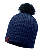 Шапка Buff KNITTED HAT ADALWOLF DENIM