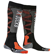 Носки X-Bionic 2019-20 X-Socks® Ski Jr 4.0 Black/X-Orange