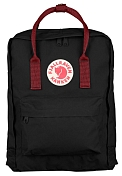 Рюкзак FjallRaven 2020-21 Kanken Black-Ox Red