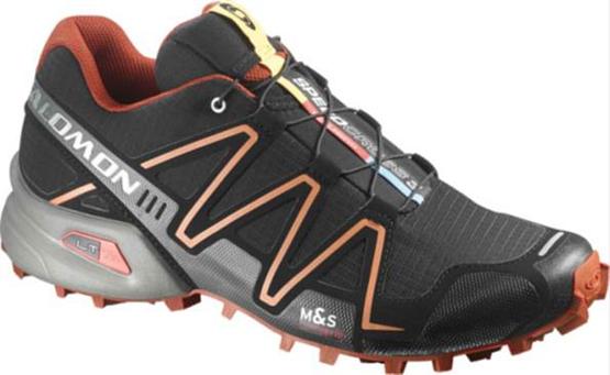 Купить Беговые кроссовки для XC SALOMON 2015 SPEEDCROSS 3 M BLACK/OR/CLEM Кроссовки бега 1172695