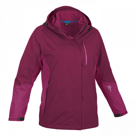 Куртка для активного отдыха Salewa PARTNER PROGRAM ALPINDONNA *GEA PTX/PL W 2X JKT beet red/6490 int.6490