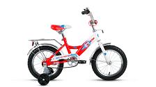 Велосипед Altair City Boy 14 2017 Белый/красный