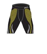 Шорты ACCAPI EQUILIBRIUM CYCLING SHORTS MAN (black/lemon) черный/желтый