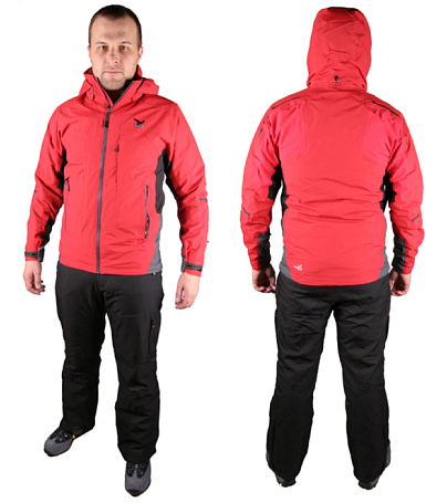 Куртка туристическая Salewa Alpine Active AMMONIT PTX/PRL M 2X JKT red (красный)