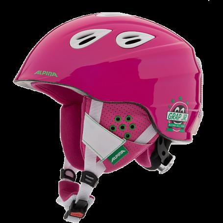 Купить Зимний Шлем Alpina 2015-16 JUNIOR GRAP 2.0 JR pink white Шлемы для горных лыж/сноубордов 1193984