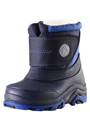 Купить Ботинки городские (высокие) Reima 2016-17 HALLA TODDLER СИНИЙ Обувь для города 1274396