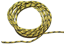 Репшнур Salewa Ropes AUXILIARY CORD 4 MM (60 М) BLACK/YELLOW/SILVER