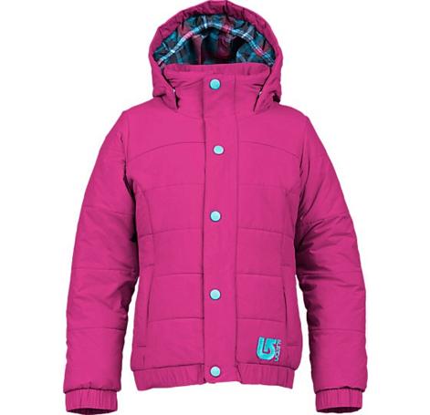 Купить Куртка сноубордическая BURTON 2013-14 GIRLS CSCDE PUFY JK HOT STREAK Детская одежда 1021646