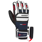 Перчатки горные REUSCH 2018-19 Alexis Pinturault GTX + Gore grip technology dress blue/fire red