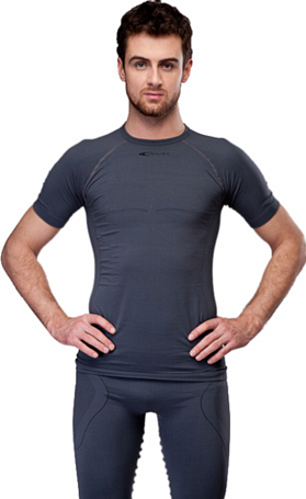 Футболка ACCAPI DYNAMIC SHORT SL.T-SHIRT MAN (black) черный
