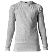 Комплект (футболка дл.рук. + брюки) MAIER 2014-15 Underwear 390209 silver melange (серый)