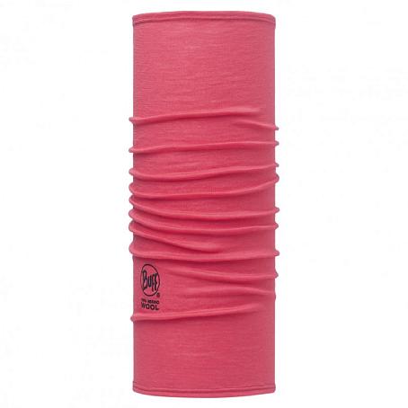 Купить Шарф BUFF Wool Plain SLIM FIT MERINO WOOL SOLID PINK HIBISCUS Банданы и шарфы Buff ® 1263406