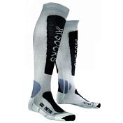 НоскиНоски<br>Горнолыжные носки&amp;nbsp;<br> <br> - Xitanit™, благодаря высокой теплопроводности, выводит излишний тёплый и влажный воздух.&amp;nbsp;<br> При высокой температуре окружающей среды ноги не нагреваются, так как Xitanit™ отражает внешнее тепло.&amp;nbsp;<br> -шерсть Merino Wool, обладает высокими теплоизоляционными свойствами мягкая и приятная на ощупь.<br> -Robur™ ,прочная и износостойкая ткань, состоит из полых волокон с герметичной воздушной камерой - защищает от ударных нагрузок и давления, предотвращает образование мозолей и ссадин<br> -Mythlan™ - ультралегкий, дышащий материал, накапливает и испаряет влагу, гипоаллергенна<br>