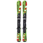 Горные лыжи с креплениямиГорные лыжи<br>Elan JETT - классные лыжи для маленьких лыжников. Как сделать обучение ребёнка на лыжах простым, быстрым и весёлым? Да, очень просто! Надо, лишь, смешать в одной лыже технологию Elan U-Flex &amp;#40;для повышения гибкости&amp;#41;, профиль Early Rise Rocker &amp;#40;для простоты поворотов&amp;#41;, очень лёгкий сердечник Synflex Core... Что мы и сделали первыми, среди всех остальных производителей. И теперь у нас есть отличные лыжи, которые помогут вашему ребёнку очень быстро научиться кататься, получая от этого максимум удовольствия.<br><br>Модель: 2016 elan jett<br>Технологии: u-flex, full power cap, synflex, fiberglass, early rise rocker<br>Крепления: EL 7.5 QT/EL 4.5 QT<br>Геометрия: 101/69/90, 105/68/90*, 109/67/95** <br>Радиус: 70&amp;#40;2.50&amp;#41;, 80&amp;#40;3.5&amp;#41;, 90&amp;#40;4.8&amp;#41;, 100&amp;#40;6.2&amp;#41;, 110&amp;#40;7.0&amp;#41;*, 120&amp;#40;8,6&amp;#41;*, 130&amp;#40;9.4&amp;#41;**, 140&amp;#40;11.2&amp;#41;**, 150&amp;#40;13.1&amp;#41;**<br>Рекомендуемая ростовка: –15/–5<br><br>Пол: Унисекс<br>Возраст: Взрослый<br>Вид: рубашка