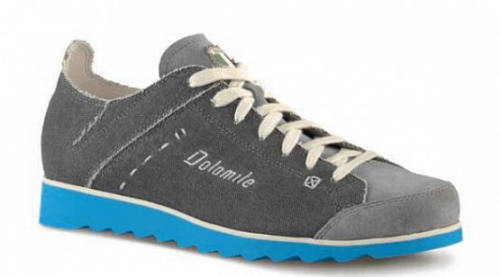 Купить Ботинки городские (низкие) Dolomite 2017 Cinquantaquattro Travel Canvas Grey/Blue, Обувь для города, 1188273
