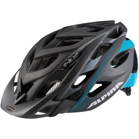 Купить Летний шлем Alpina MTB D-Alto LE titanium-cyan matt, Шлемы велосипедные, 1179889