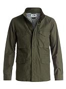 Куртка для активного отдыхаОдежда для активного отдыха<br>Мужская куртка-парка в стиле милитари.<br> <br> Характеристики:<br> <br> - состав: 100% хлопок<br> <br> - саржа обратной вязки<br> <br> - подкладка с принтом<br> <br> - два нагрудных и два передних кармана<br> <br> - кожаная отделка&amp;nbsp;<br> <br> - смягчающая обработка stone wash<br>